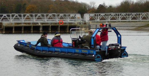 Sea Rover at work