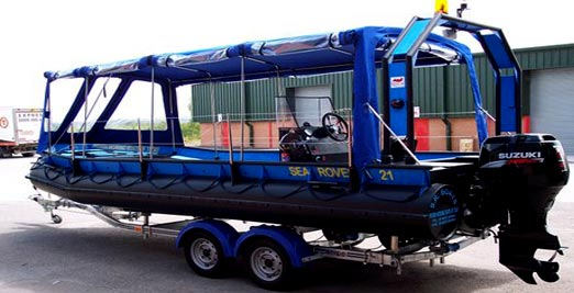 Sea Rover with Canopy